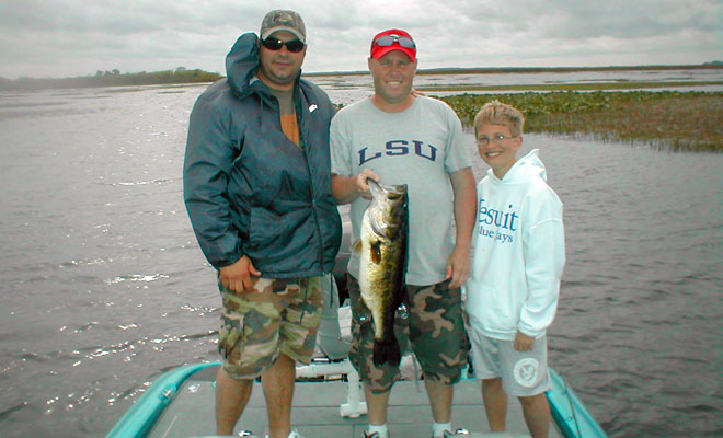 Lake kissimmee bass fishing guide charter service for Florida bass fishing guides